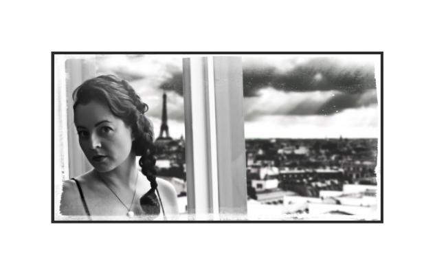 Francesca in Paris.