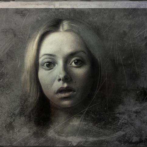 "Alina ""Thumbelina"" | 2015 | Graphite on paper | 20cm x 25cm"